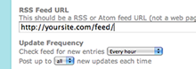 Automatically Post RSS Feed Content